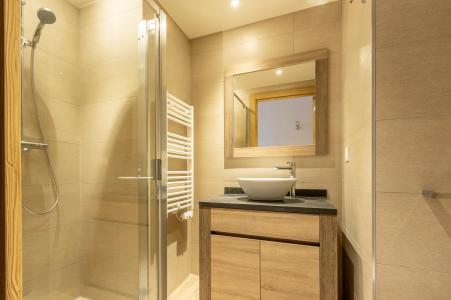Location au ski Appartement 3 pièces 8 personnes (303) - Résidence le Ridge - Les Arcs - Douche