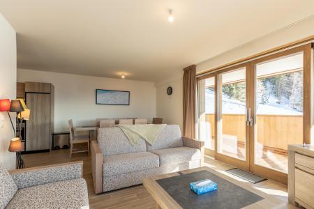 Location au ski Appartement 4 pièces 10 personnes (302) - Résidence le Ridge - Les Arcs - Banquette
