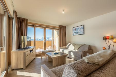 Location au ski Appartement 4 pièces 10 personnes (302) - Résidence le Ridge - Les Arcs - Canapé