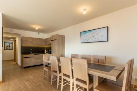 Location au ski Appartement 4 pièces 10 personnes (302) - Résidence le Ridge - Les Arcs - Table