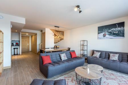 Location au ski Appartement 5 pièces 11 personnes (109) - Résidence le Ridge - Les Arcs - Banquette