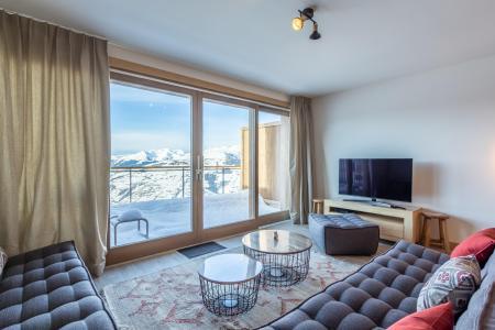Location au ski Appartement 5 pièces 11 personnes (109) - Résidence le Ridge - Les Arcs - Canapé