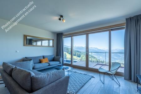 Location au ski Appartement 5 pièces 12 personnes (301) - Résidence le Ridge - Les Arcs - Séjour