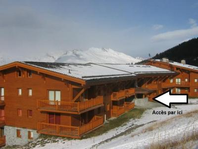 Location au ski Residence Le Saint Bernard - Les Arcs - Extérieur hiver