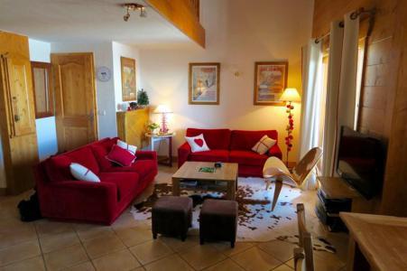 Location au ski Appartement 4 pièces 8 personnes (B18) - Résidence le St Bernard - Les Arcs - Séjour