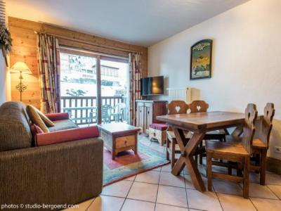Rent in ski resort 2 room apartment 4 people (E8) - Résidence les Alpages de Chantel - Les Arcs - Living room