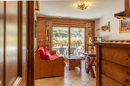 Rent in ski resort 3 room apartment 4 people (17F) - Résidence les Alpages de Chantel - Les Arcs - Living room