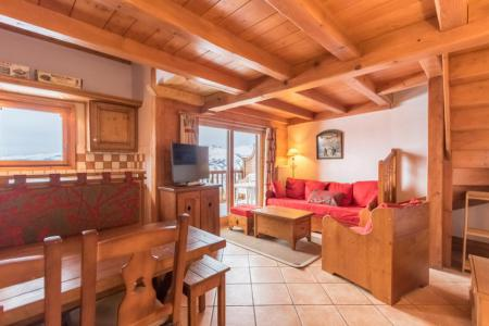 Rent in ski resort 4 room duplex apartment 6 people (E14) - Résidence les Alpages de Chantel - Les Arcs - Apartment