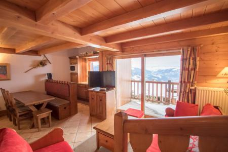 Rent in ski resort 4 room duplex apartment 6 people (E14) - Résidence les Alpages de Chantel - Les Arcs - Living room