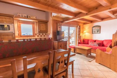 Rent in ski resort 4 room duplex apartment 6 people (E14) - Résidence les Alpages de Chantel - Les Arcs - Table