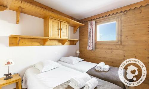 Location au ski Appartement 3 pièces 6 personnes (Sélection 52m²-1) - Résidence les Alpages de Chantel - Maeva Home - Les Arcs - Extérieur hiver