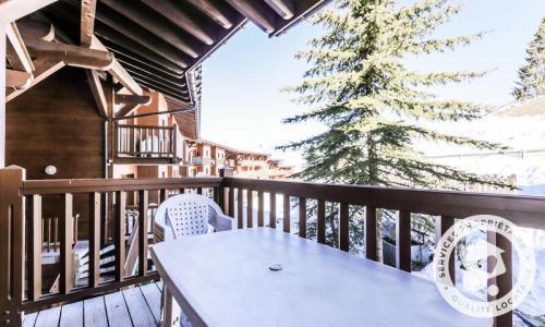 Location au ski Appartement 3 pièces 8 personnes (Sélection 58m²-1) - Résidence les Alpages de Chantel - Maeva Home - Les Arcs - Extérieur hiver