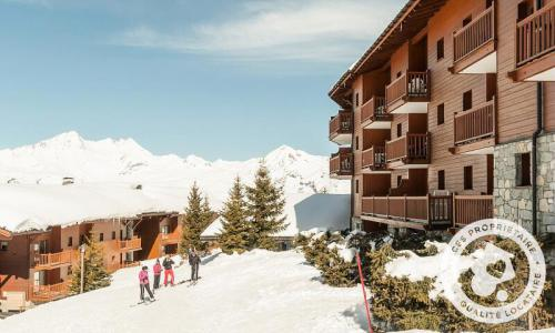 Location au ski Résidence les Alpages de Chantel - Maeva Home - Les Arcs - Extérieur hiver