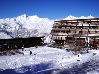 Vacances en montagne Appartement 2 pièces 6 personnes (AR3038R) - Résidence les Arolles - Les Arcs - Extérieur hiver