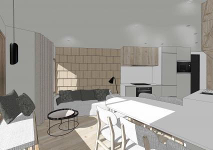 Skiverleih Studio Schlafnische 5 Personen (361) - Résidence les Charmettes - Les Arcs