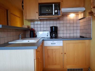 Location au ski Appartement 2 pièces 4 personnes (327R) - Résidence les Charmettes - Les Arcs - Cuisine