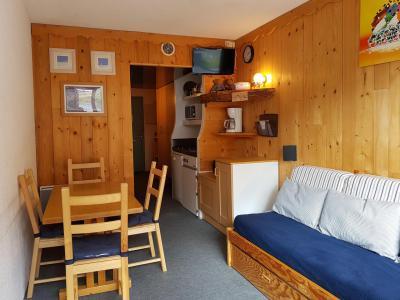 Location au ski Studio coin montagne 3 personnes (203) - Résidence les Lanchettes - Les Arcs - Séjour