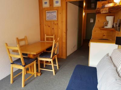 Location au ski Studio coin montagne 3 personnes (203) - Résidence les Lanchettes - Les Arcs - Table