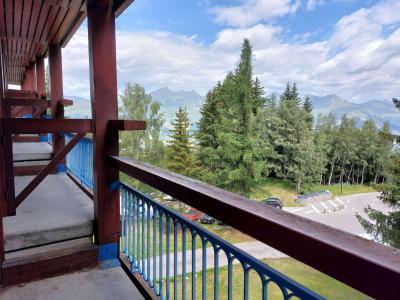 Location au ski Residence Les Lauzieres - Les Arcs - Extérieur hiver