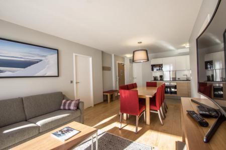 Rent in ski resort 4 room apartment 6 people (301) - Résidence les Monarques - Les Arcs - Dining area