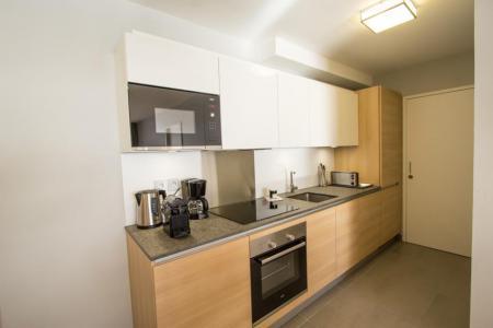 Rent in ski resort 4 room apartment 6 people (301) - Résidence les Monarques - Les Arcs - Kitchen