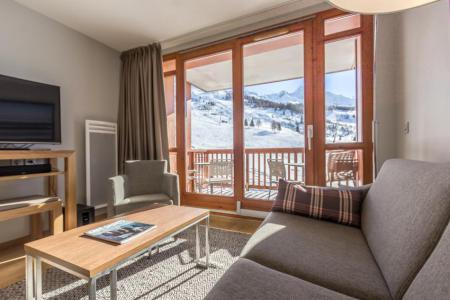 Rent in ski resort 4 room apartment 6 people (301) - Résidence les Monarques - Les Arcs - Living room