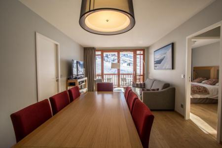 Rent in ski resort 4 room apartment 6 people (301) - Résidence les Monarques - Les Arcs - Table