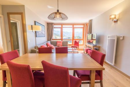 Rent in ski resort 4 room apartment 6 people (601) - Résidence les Monarques - Les Arcs - Living room
