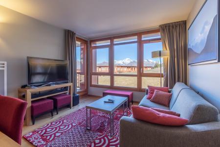 Rent in ski resort 4 room apartment 6 people (602) - Résidence les Monarques - Les Arcs - Living room