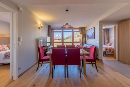 Rent in ski resort 4 room apartment 6 people (602) - Résidence les Monarques - Les Arcs - Table