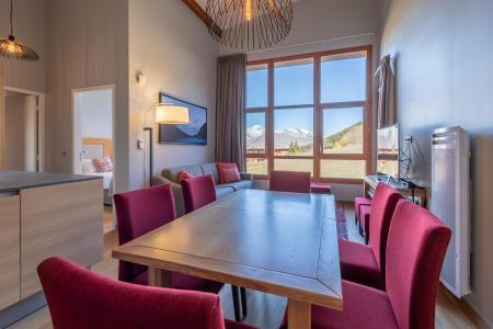 Rent in ski resort 4 room apartment 6 people (702) - Résidence les Monarques - Les Arcs - Table