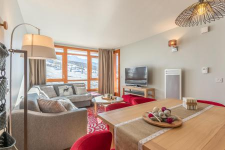 Rent in ski resort 4 room apartment 6 people (717) - Résidence les Monarques - Les Arcs - Apartment