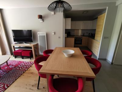 Rent in ski resort 4 room apartment 6 people (809) - Résidence les Monarques - Les Arcs - Dining area
