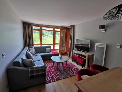 Rent in ski resort 4 room apartment 6 people (809) - Résidence les Monarques - Les Arcs - Living room