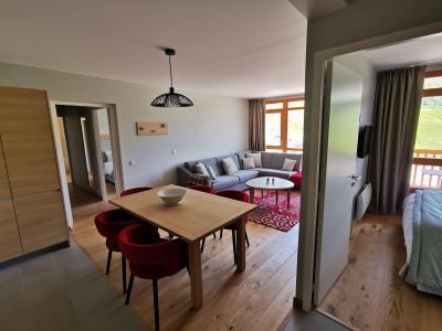 Rent in ski resort 4 room apartment 6 people (809) - Résidence les Monarques - Les Arcs - Shower room