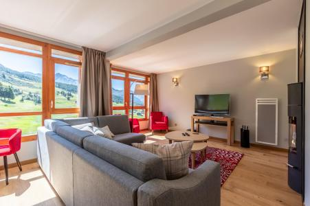 Rent in ski resort 4 room apartment 6 people (905) - Résidence les Monarques - Les Arcs - Settee