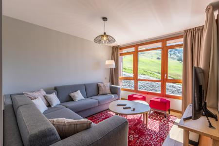 Rent in ski resort 4 room apartment 7 people (912) - Résidence les Monarques - Les Arcs - Living room