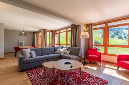 Rent in ski resort 4 room apartment 8 people (905) - Résidence les Monarques - Les Arcs - Living room