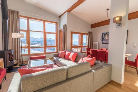 Rent in ski resort 5 room apartment 10 people (703) - Résidence les Monarques - Les Arcs - Living room