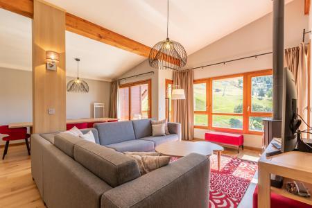 Rent in ski resort 5 room apartment 8 people (1003) - Résidence les Monarques - Les Arcs - Living room