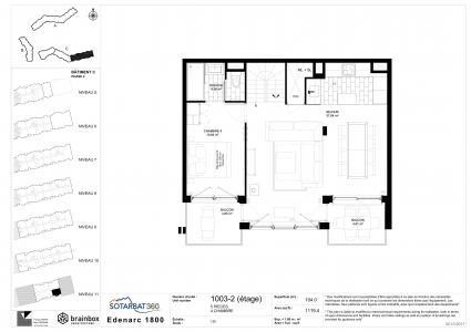 Rent in ski resort 5 room apartment 8 people (1003) - Résidence les Monarques - Les Arcs