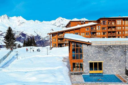 Rent in ski resort Résidence les Monarques - Les Arcs - Winter outside