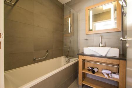 Location au ski Appartement 4 pièces 6 personnes (301) - Résidence les Monarques - Les Arcs - Baignoire
