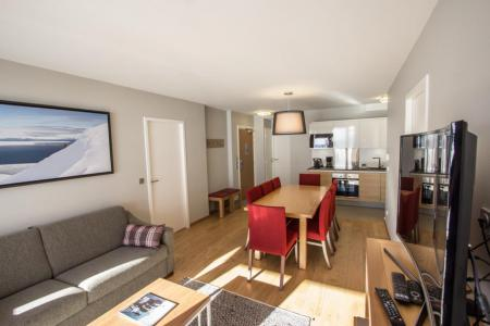 Location au ski Appartement 4 pièces 6 personnes (301) - Résidence les Monarques - Les Arcs - Banquette