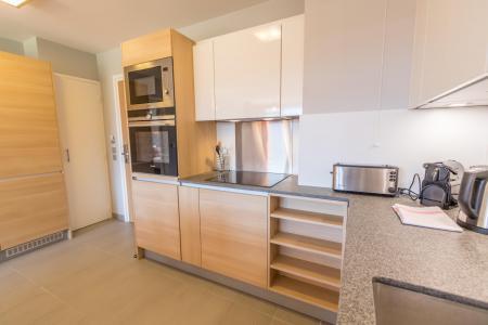 Location au ski Appartement 4 pièces 6 personnes (601) - Résidence les Monarques - Les Arcs - Cuisine