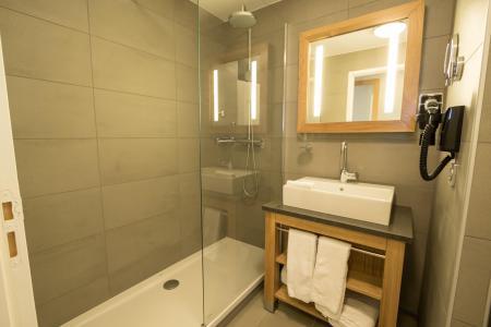 Location au ski Appartement 4 pièces 6 personnes (601) - Résidence les Monarques - Les Arcs - Douche
