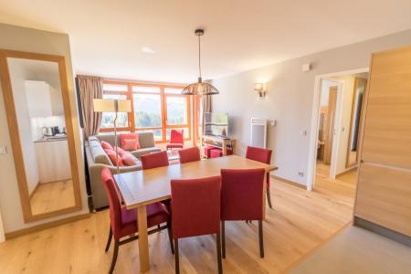 Location au ski Appartement 4 pièces 6 personnes (601) - Résidence les Monarques - Les Arcs - Table