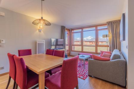 Location au ski Appartement 4 pièces 6 personnes (602) - Résidence les Monarques - Les Arcs - Salle à manger
