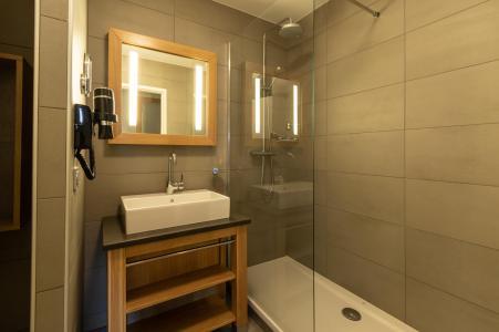 Location au ski Appartement 4 pièces 6 personnes (602) - Résidence les Monarques - Les Arcs - Salle d'eau