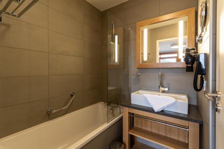 Location au ski Appartement 4 pièces 6 personnes (602) - Résidence les Monarques - Les Arcs - Salle de bains